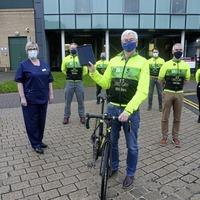 Creggan Wheelers weigh in to help hospital project