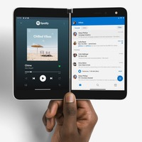 Microsoft's Surface Duo foldable phone to launch in the UK in early 2021
