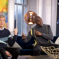 Sir Paul McCartney and Idris Elba discuss fame during interview