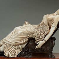 Temporary export ban placed on 19th century ivory sculpture by Henri de Triqueti