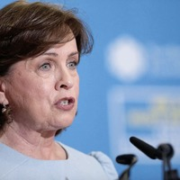 DUP accused of blocking Stormont budget over demand to plug EU funding hole in Diane Dodds' department