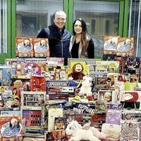 Toys flood in after water company's 'Roceweller' Christmas tree appeal