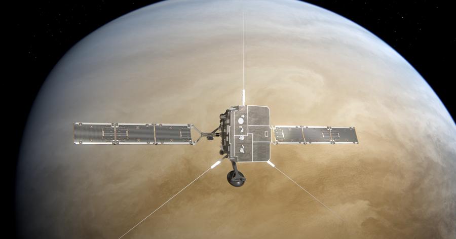 British spacecraft set for the ceremonial flight of Venus