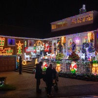In Pictures: Festive lights spread Christmas cheer across UK