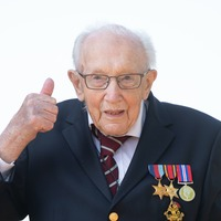 Captain Sir Tom Moore: Things will get better