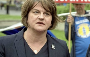 Arlene Foster threatened by South East Antrim UDA