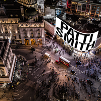 Patti Smith to light up Piccadilly Circus screens with new year performance