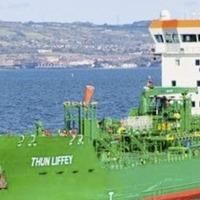 Oil tanker refloated after sticking on Lough Foyle sandbank