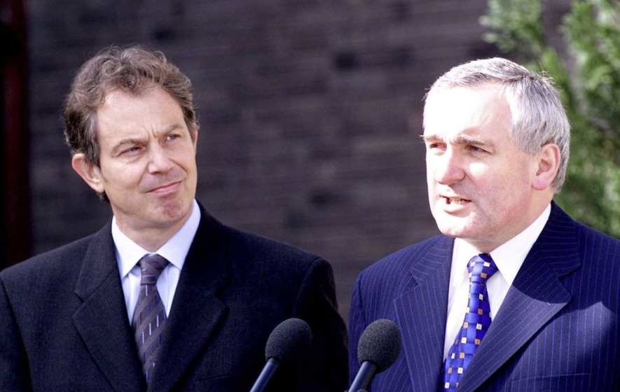 Genesis of Bertie Ahern and Tony Blair roles in the Good Friday Agreement