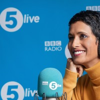 Naga Munchetty 'absolutely delighted' as she makes debut as Radio 5 Live host