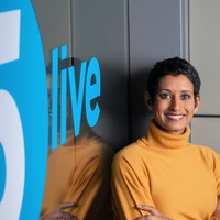 Naga Munchetty signs off first show as permanent BBC Radio 5 Live host