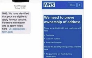 Police issue warning about new Covid-19 vaccine phishing scam
