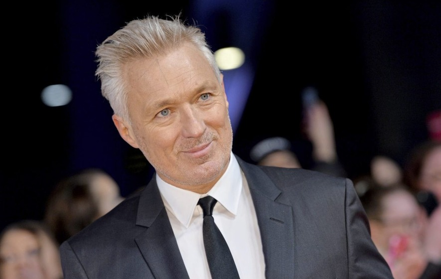 Martin Kemp: All my early parenting was done over a fax ...