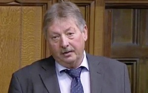 Sammy Wilson defends Westminster trip despite advice to stay away