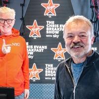 Graham Norton promises 'same old me' as he begins Virgin Radio show