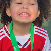 Father tells of pride as four-year-old girl runs marathon over a month for NHS
