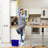 Why doing the housework really can keep you fit