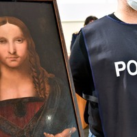 Italian police find stolen copy of Leonardo da Vinci's Salvator Mundi