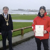 Man who saved neighbour from Portrush house fire honoured by Causeway council