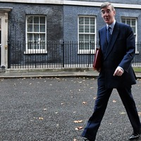 Rees-Mogg: Imagine me laid down flat when trying to judge social distancing