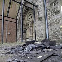 £5,000 reward for information on 'hate crime' arson attack on Belfast multi-cultural centre