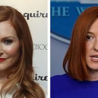 Scandal's Darby Stanchfield offers tips to White House press secretary Jen Psaki