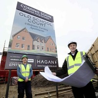 Hagan Homes moves on site at £3.25m apartment scheme in Strabane