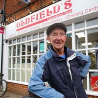 Paperboy George still devoted to his round after celebrating 80th birthday