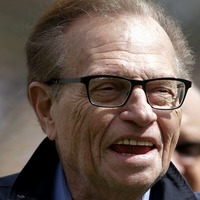Mourners wore braces to Larry King's funeral, says widow