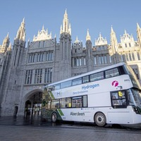 Ballymena-built hydrogen bus fleet enters service in Aberdeen