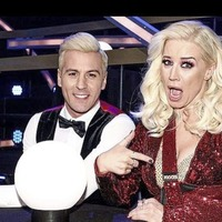 Sleb Safari: Denise Van Outen and her bling sling are sitting out the rest of Dancing On Ice