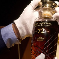 72-year-old whisky from Scotland fetches more than £39,000 in Hong Kong auction