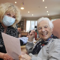 New friendships forged in pen pal programme for care home residents in Republic of Ireland