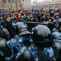 Russia arrests more than 5,000 protesters demanding release of Alexei Navalny