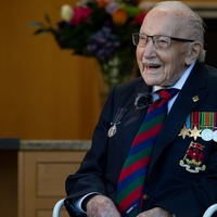 In Pictures: How Captain Sir Tom Moore inspired a nation