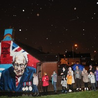In Pictures: Country comes together to clap for Captain Sir Tom Moore