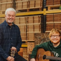 Ed Sheeran makes rare appearance to announce guitar giveaway