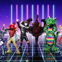 Dragon and Harlequin revealed on The Masked Singer in double elimination