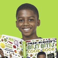 12-year-old vegan cook Omari McQueen: The kitchen is my science lab