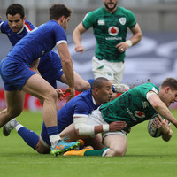 Ireland's Six Nations hopes in tatters following defeat to France