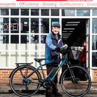 Paperboy, 80, postpones retirement after being given new electric bike