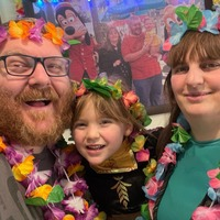 Family stages elaborate staycation after seeing Disney trips cancelled