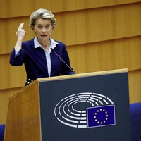 Von der Leyen warns UK that EU will not hesitate to act if Brexit deal breached