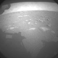 Nasa's perseverance rover lands safely on Mars and sends back pictures