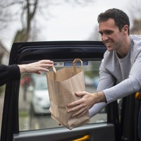 London cabbie runs pie and mash delivery service after Covid slashes fares