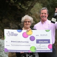 Lottery winners to pop decades-old champagne after waiting years for win