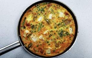 James St Cookery School: Three frittatas, from basic to asparagus and goat's cheese