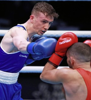 Brendan Irvine wins on ring return but injury rules him out of semi showdown