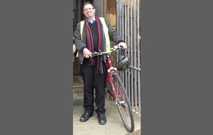 West Belfast priest thanks those who came to his aid when he collapsed during bike ride