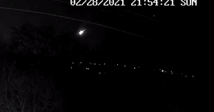 Bola de fuego que iluminó los cielos en el Reino Unido, probablemente un  trozo de asteroide, dicen los científicos